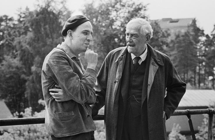 Bergman und Sjöström, 1957 © gemeinfrei