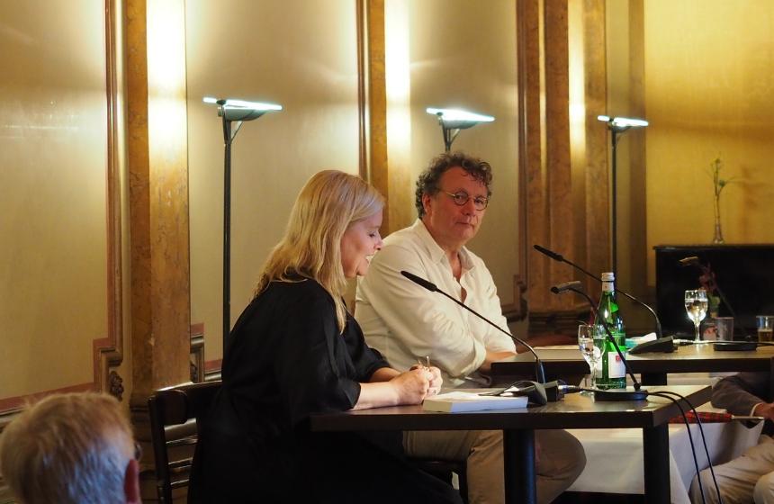 Ingo Schulze 2020 im Literaturhaus © Literaturhaus