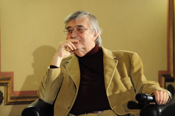 Peter Härtling (4.4.2013) © Literaturhaus-Archiv